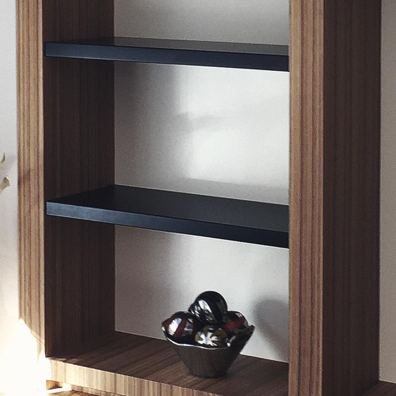 Librería de madera a medida de diseño moderno